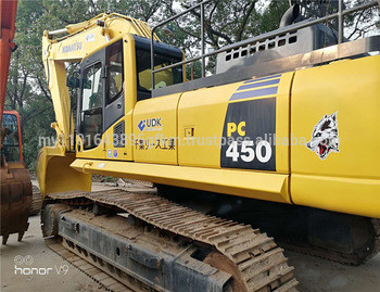 Used 45ton Top Quality Construction Equipment Crawler Excavator Komatsu PC450-8 Crawler Excavator for Sale