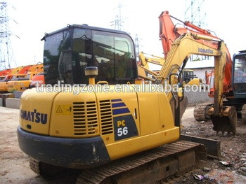 used PC56 mini crawler excavatororiginal from Japan