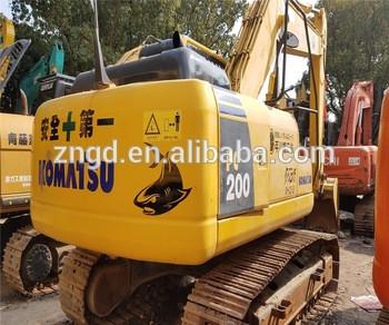 KOMATSUU PC200-8 PC200-7 PC210-8 PC220-8 PC240-8 PC360 PC400 PC450 crawler used hitachi mini excavator in shanghai