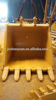 Excavator bucket PC450 PC450-8 PC470 rock bucket 2.4CBM 2.1CBM1.9CBM application for komasu