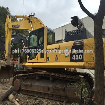 Used komatsu crawler excavator PC450-8/ used big digger 45ton