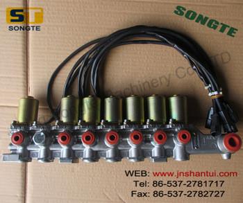 low price 702-21-57400 PC200-8 main pump solenoid valve