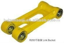 China produce High quality PC450-8 excavator connecting link/spare parts excavator link road
