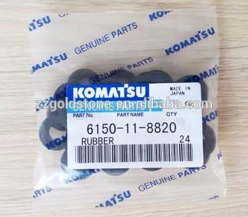 PC400-8 PC450-8 PC550LC-8 Rubber 6150-11-8820