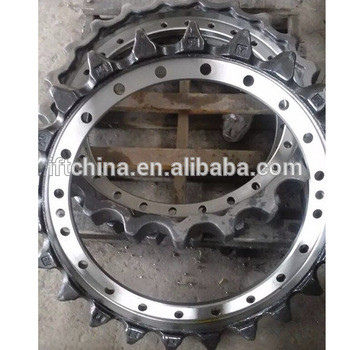 Excavator undercarriage parts sprocket track chain pc56-7 drive teeth