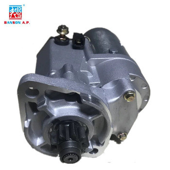 Excavator spare parts S4D87 engine parts engine starting motor PC56-7/60-7