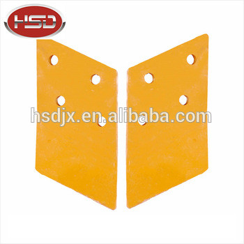 Spare parts for excavator construction machine/equipment parts excavator bucket tooth double cutting teeth/side cutters/blade