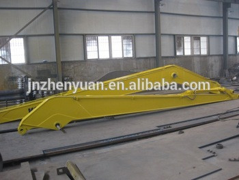China manufactory produce durable excavator long reach boom and arm for PC200-6/PC220-7/PC230-6/PC240-8/PC300/PC360/PC400/PC450