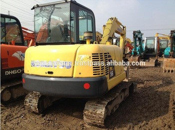 Used Machinery Komatsu small excavator Komatsu PC56 mini excavators for sale (whatsapp:0086-15800802908)