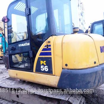 japan used komatsu pc55 excavator ,komatsu mini excavator pc55 for sale