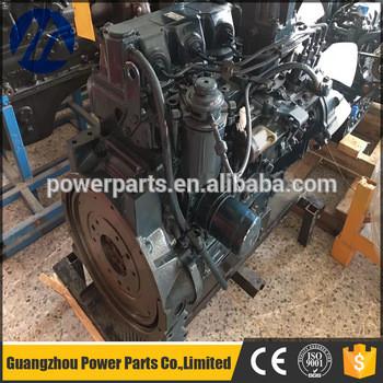 PC300-7 PC360-7 Excavator diesel complete engine assy 6D114