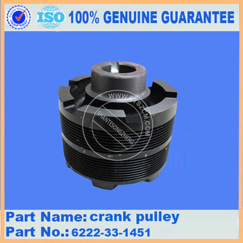 Excavator parts for PC360-8 pulley 6745-61-3210 competitive price and high quality
