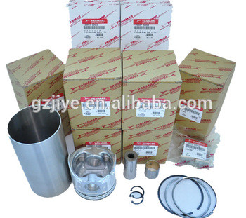 pc40-8 pc45-2 pc50-2 pc55-2 pc56 piston, piston ring, cylinder liner, engine cylinder liner set