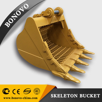 Skeleton Bucket For PC200/ PC450LC-7/ PC450-7/ PC850-8/ PC1250