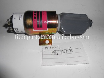 flameout switch shut off valve for excavator PC60-7