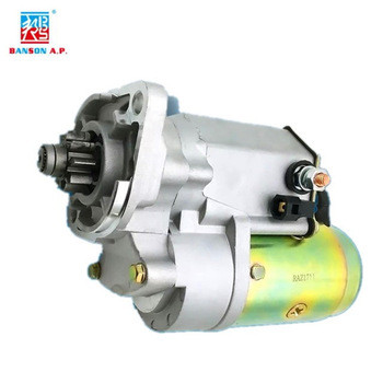excavator engine spare parts start motor for QDJ1100A