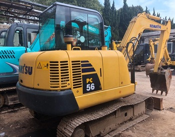 Low Price and High Quality Hydraulic Crawler Excavator Komatsu PC56 from Japan in stock for hot sale