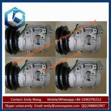 Excavator PC228 Air Conditioner Compressor PC128UU PC130 PC130-6 PC130-7 PC150 PC160-7 Compressors for Komat*su
