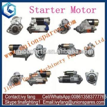 6D105 Starter Motor Starting Motor 600-813-3650 for Komatsu Wheel Loader WA400-1 WA300-1