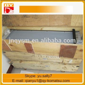 PC160-7 excavator radiator, water cooler 21K-03-71114