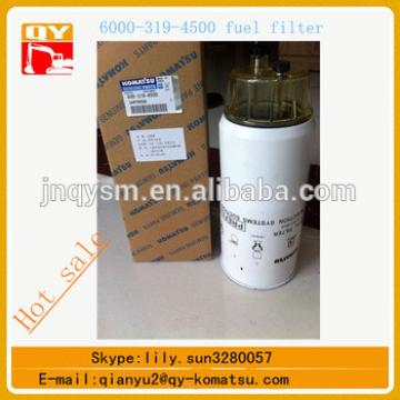 Factory price excavator diesel filter 600-319-4500 for pc400-7 pc450-7 pc400-8 pc450-8