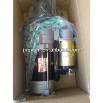 Original diesel engine starter motor for excavator engine