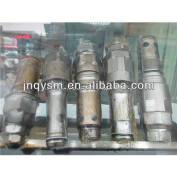 excavator relief valve,excavator multiple valve, PC60,PC70,PC90,PC100-2,PC100-3,PC100-6,PC200,PC300,PC400