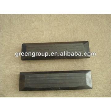 PC75uu rubber track pad,PC80 rubber pad,excavator:PC18,PC28,PC30,PC25,PC35,PC70,PC40MR,PC55,PC90,PC120,PC130,PC160,PC150