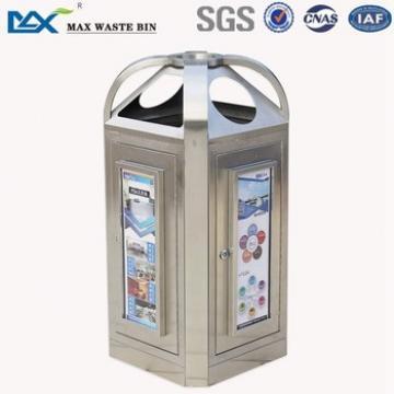 recycle bin 3 type ,pole mounted waste bin ,waste bin for saudi arabia