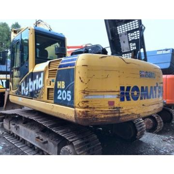 Fuel-efficient Komatsu Machine HB205 Excavator for sale , Used Komatsu Excavator at low working hours