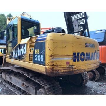 International Certificated Komatsu Used Excavator HB205 at low price , All Series Komatsu Hydraulic Digger for hot sale