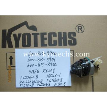 SAFE RELAY FOR 600-815-8940 600-815-8941 600-815-8942 600-815-8943 PC220LC-8 HB205-1 PC228USLC-8 PC138US-8 PC270-8 PC78US-8