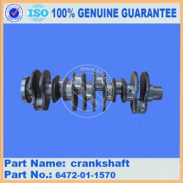 Crankshaft 6754-01-1310 PC270 of engine SAA6D107E