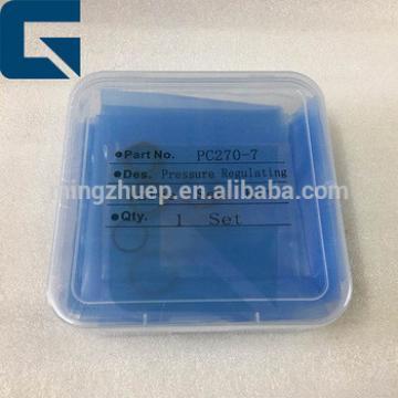 PC270-7 pressure regulating valve seal kit for Excavator