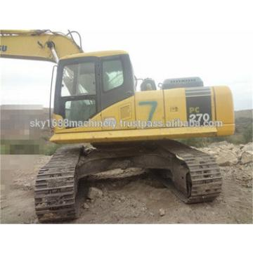 Used komatsu pc270-7 excavator with good condition for sale./Komatsu pc270-7 good excavator