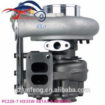 Genuine New PC220-7 HX35W Turbo 4038471 turbocharger for Cummins Komatsu PC220 PC270 Excavator Engine 6BTA 5.9L SAA6D102E-2