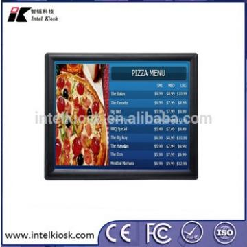 "i7 capacitive touch AIO PC 27"" for digital food menu"