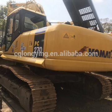 Used K omatsu PC 270 excavator for sale