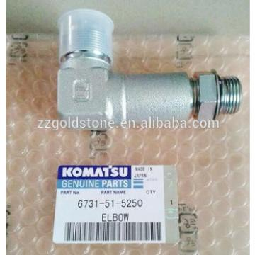 PC75UU-3 PC60-7 PC75US-3 PC160LC-8 PC270-8 ELBOW 6731-51-5250 ELBOW 6738-51-5240
