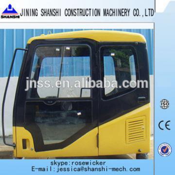 PC200-7 excavator cabin, driving cabin, excavator cab for PC60/PC75/PC130/PC150/PC200-7/PC220-8/PC240/PC270/PC300