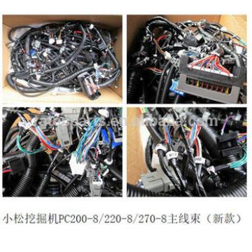 Wiring harness PC200-8 PC220-8 PC270-8 20Y-06-42411 excavator spare parts wiring harness