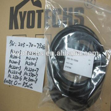 BUCKET O RING for 205-70-73280 PC200-3 PC200-5 PC200-6 PC200-7 PC200-8 PC210-6 PC220-3 PC220-7 PC220-8 PC270-7 PC250-6 PC300-8