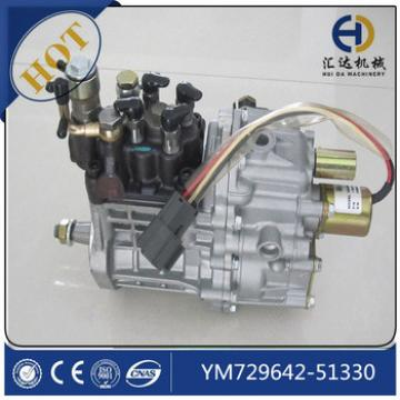 Excavator PC50MR-2 injection pump assy YM729642-51330 fuel injection pump