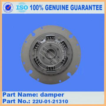 PC200-7/PC220-7/PC270-7 disc damper connect pump and tubo