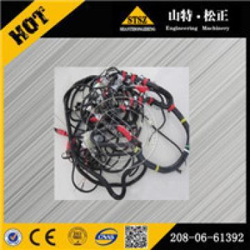 original excavator wiring harness 208-53-12940 for PC200-7 PC210-7 PC270-7