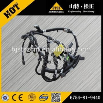 China best quality PC220-8 PC270-8 WIRE HARNESS 6754-81-9440, engine starting wiring harness