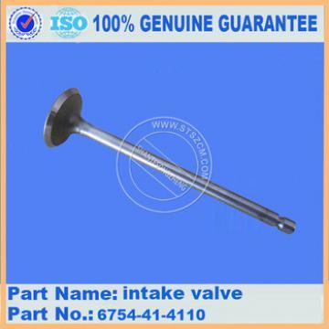High quality engine parts PC270-7 intake valve assy 6736-41-4110 wholesale price