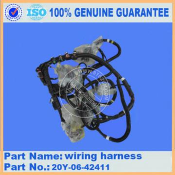 excavator cab parts 20Y-06-42411 PC200-8 PC220-8 PC210-8 PC270-8 excavator wiring harness