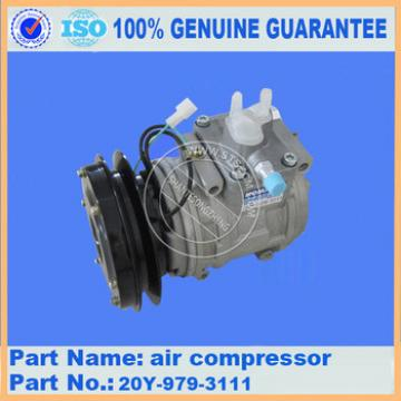 Hot sales genuine excavator parts for PC360-8 compress assy ND447220-4051 made in China