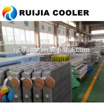 PC130 PC130-7 Excavator oil cooler radiator Inter mediate cooler supplier air condenser evaporator